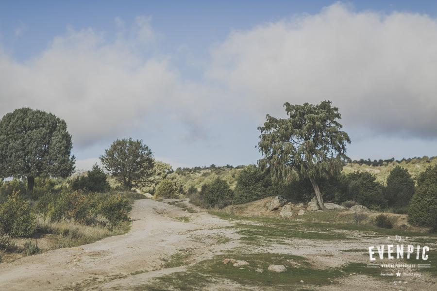 Sesión de pareja en Sierra de Madrid