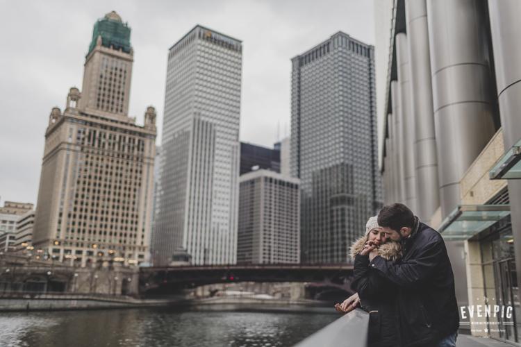 Preboda internacional en Chicago
